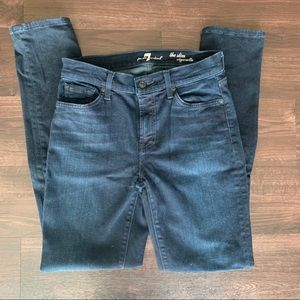 Dark wash 7 for all Mankind jeans